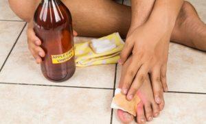 θεραπεία φουσκάλες ποδιών μηλόξυδο