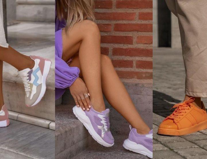 5 Γυναικεία φθινοπωρινά sneakers που θα φορεθούν φέτος!