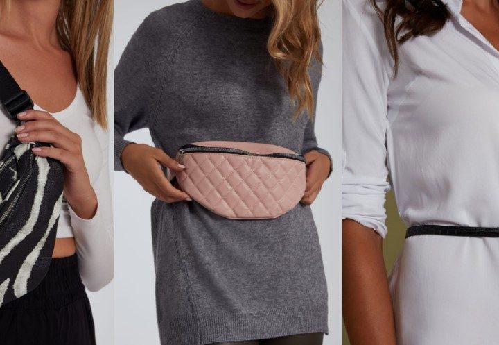7 Μοντέρνα γυναικεία τσαντάκια μέσης από 5€