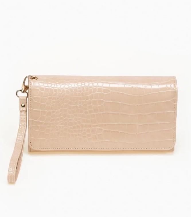 κροκό πορτοφόλι