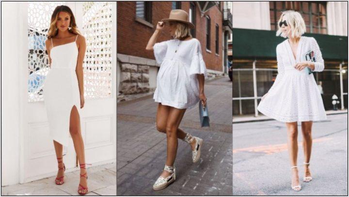 Όμορφοι τρόποι να φορέσεις ένα λευκό φόρεμα!