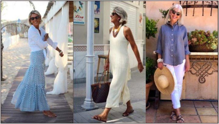 Δροσερά και στιλάτα outfits για κομψές 50άρες!