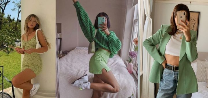 6 Outfits με πράσινο χρώμα για μοδάτες εμφανίσεις!