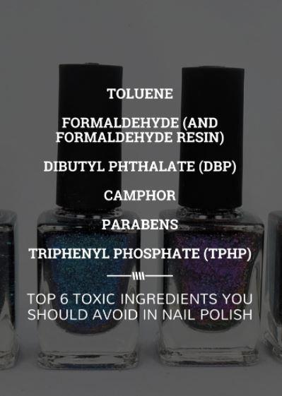 τοξικές ουσίες στο μανό