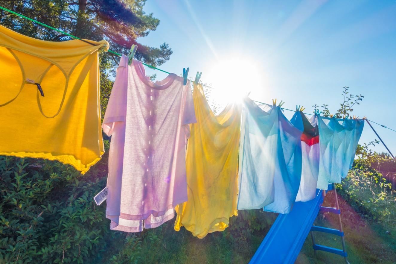 απλωμένα ρούχα