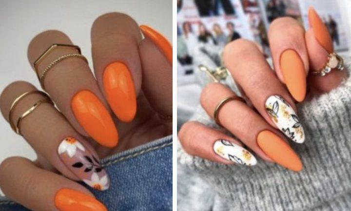 16 Ιδέες για φθινοπωρινά νύχια σε αποχρώσεις του πορτοκαλί!