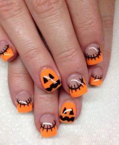 halloween νύχια