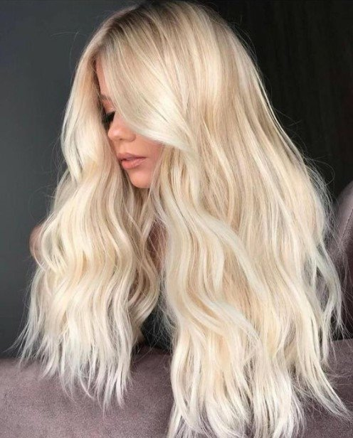 ξανθά μαλλιά ψυχρό χρώμα