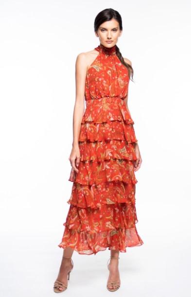 λαχούρ φόρεμα κόκκινα