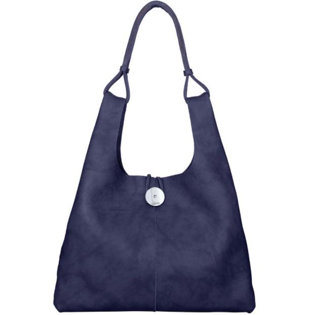 μπλε μεγάλη τσάντα ώμου χειμωνιάτικες τσάντες ΚΕΜ 2022