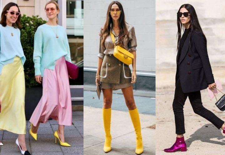 Πως να φορέσεις με στυλ τα χρωματιστά σου παπούτσια