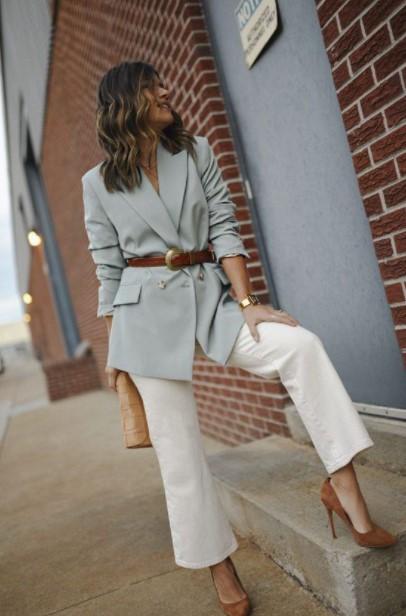 παλ σακάκι παντελόνι ζώνη φορέσεις σακάκι φθινόπωρο