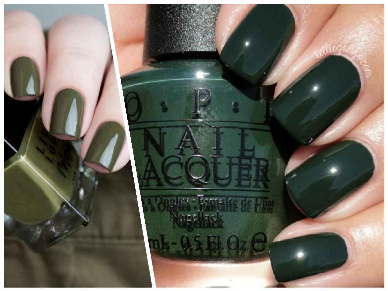 πράσινα νύχια