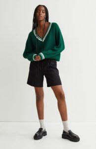 πράσινο πουλόβερ