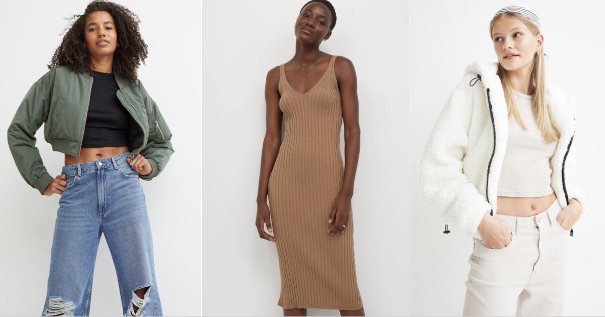 χειμωνιάτικα γυναικεία ρούχα H&M 2021-2022