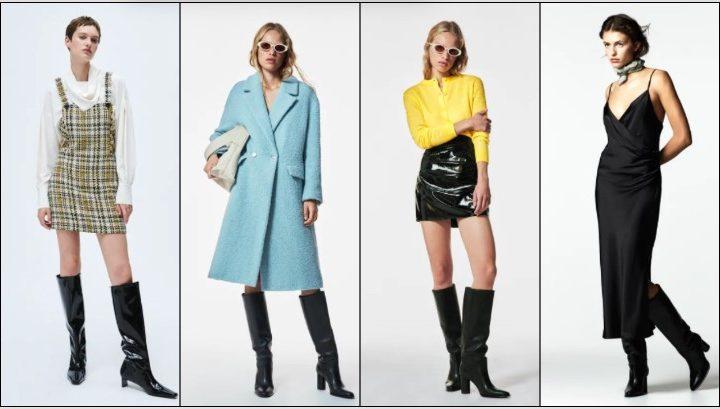 Γυναικεία ρούχα Zara για το Χειμώνα 2021-2022