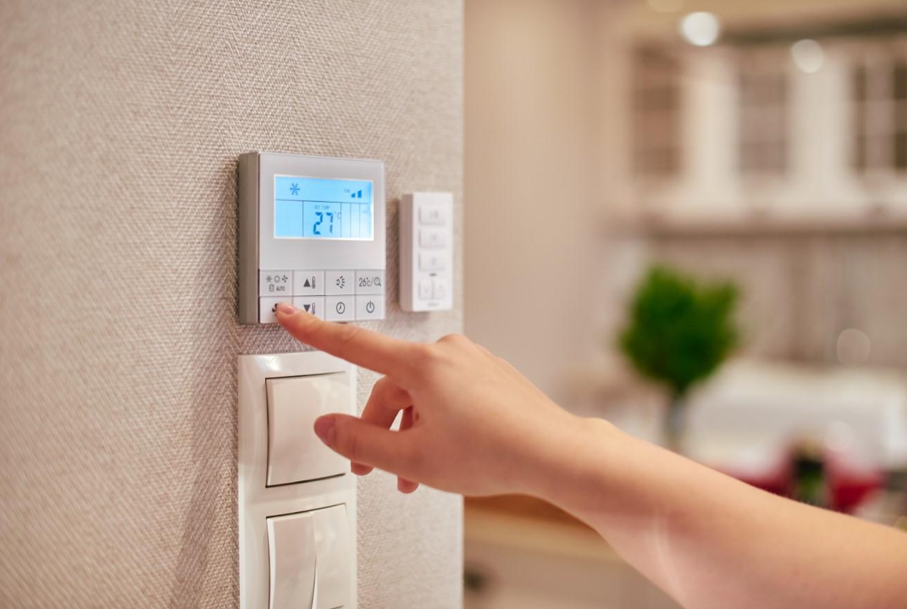 θερμοκρασία και υγρασία σπιτιού