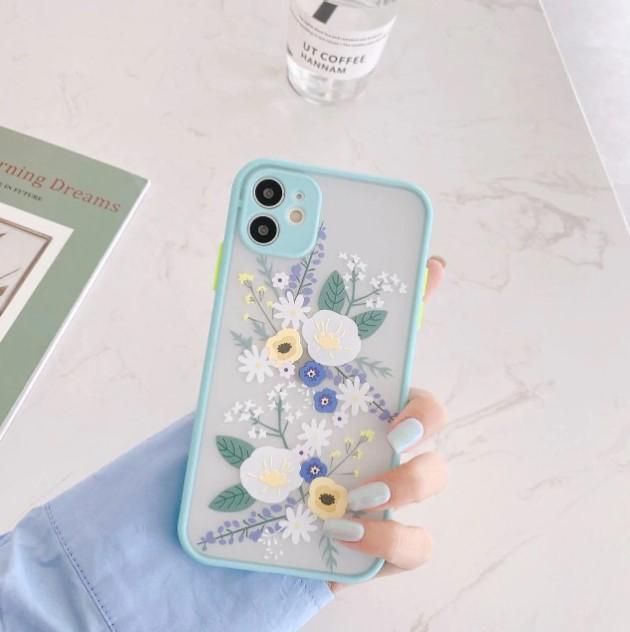 θήκη iphone με λουλούδια