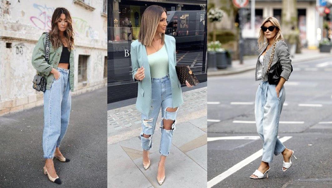 γυναικεία outfits με jean