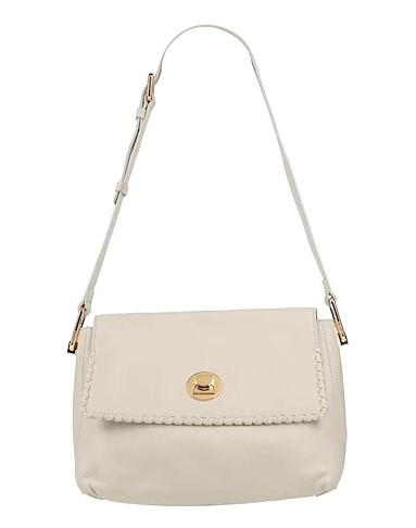 άσπρη τσάντα ώμου