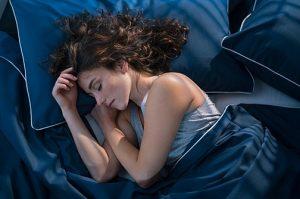 γυναίκα κοιμάται δε χάνεις κιλά