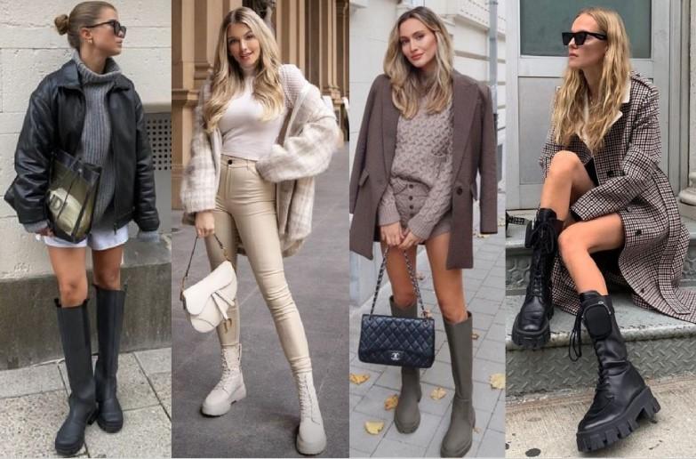 γυναικείες μπότες της μόδας