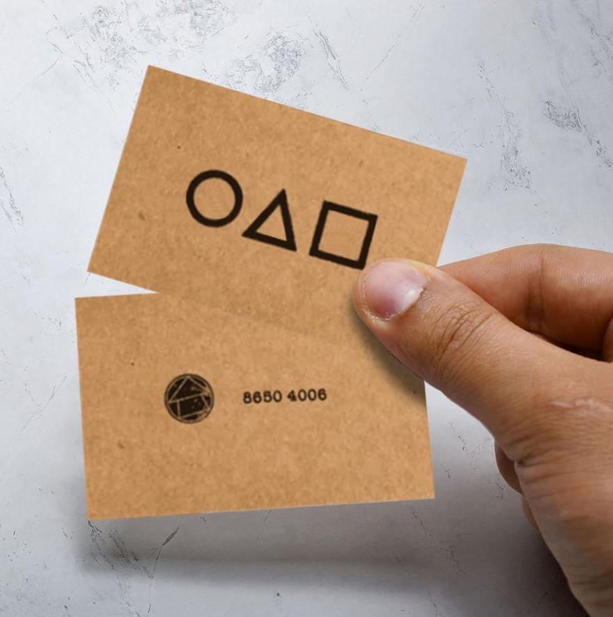 κάρτα squid game
