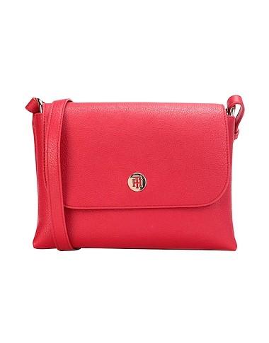 κόκκινη μεγάλη τσάντα