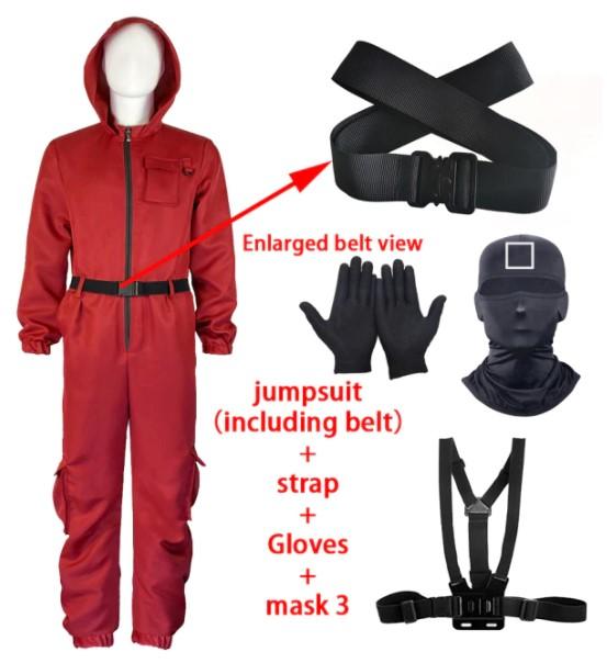 κόκκινη στολή squid game