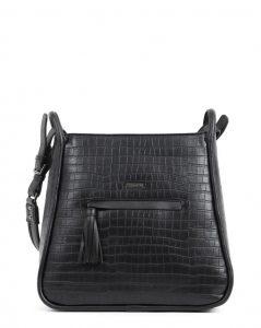 μαύρη τσάντα doca