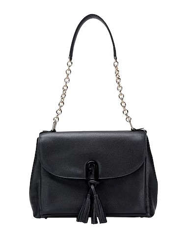 μαύρη τσάντα ώμου επώνυμες τσάντες φθινόπωρο