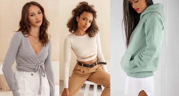 10 Μοντέρνες γυναικείες μπλούζες και φούτερ από Luigi