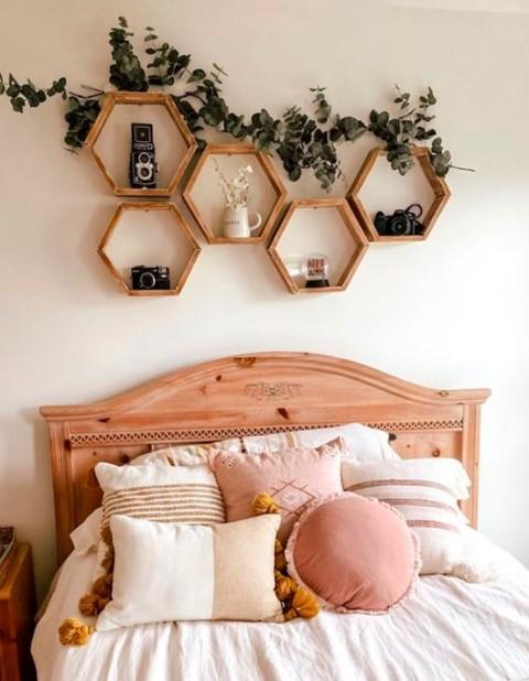 ράφια κρεβάτι