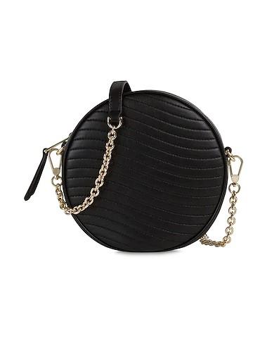 στρογγυλή μαύρη τσάντα επώνυμες τσάντες φθινόπωρο